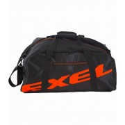 Exel Logo Duffel Bag Black/Neon Orange