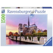 PUZZLE PICTURA NOTRE DAME, 1500 PIESE - RAVENSBURGER (RVSPA16345)