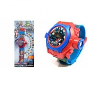 Avengers Projector Watch For Kids (Multicolor) 028