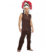 Dreamguy Chief Long Arrow Costume 9189