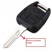 Carcasa cheie Vectra Zafira cu 3 butoane + lamela