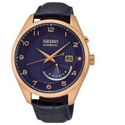 Seiko Quartz Blue Dial Mens Watch-SRN062P1