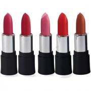 Adbeni Good Choice Lipstick Combo Make Up Set Pack Of 5 Pcs