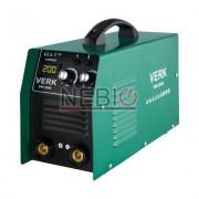 Aparat de sudura Verk VWI-200B, Electrod 1.0 - 5.0 mm, 10 Kg, Accesorii incluse, Verde
