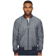 Original Penguin Chambray MA1 Bomber Jacket Dark Sapphire