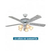 CasaFan Ventilador De Techo Con Luz Casafan 513212 Centurion 132 Blanco Gastado
