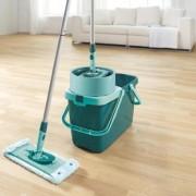 Set curatenie mop rotativ plat Leifheit Clean Twist System XL