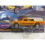 Johnny Lightning Frightning Lightnings Haulin Hearse In Orange Limited Edition Series #1 From Playing Mantis