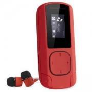 MP3 плейър MP3 Clip Coral, 0.8 LCD (128x64), MP3/WMA, 200 mAh батерия, microUSB, 42648
