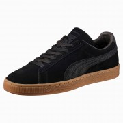 PUMA Suede Classic Natural Warmth Trainers, Zwart, Maat 40,5