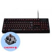 Fnatic Gear Rush G1 Brown Геймърска механична клавиатура с Cherry MX Brown суичове