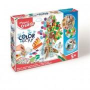 Kreatív készségfejlesztő készlet, MAPED CREATIV, \Color and Play\, négy évszak fa