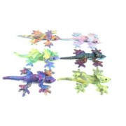 Puckator Small Sand Animal Frill Neck Lizard, Assorted Colours