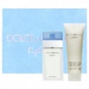 Dolce & Gabbana Light Blue 50 ml EDT + 100 ml BC Dámská dárková sada