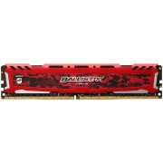 Memorie Crucial Ballistix Sport LT Red DDR4, 1x8GB, 2400MHz, CL16
