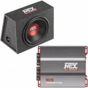 Pachet bass auto subwoofer MTX RTE12AS 350W RMS + amplificator MTX TR275 2 canale 220W RMS