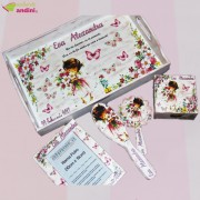 Set Moț 1 An - Girly Flowers - 6 Piese