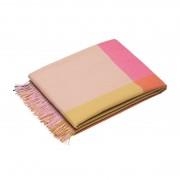 Vitra Colour Block Deken Roze Beige