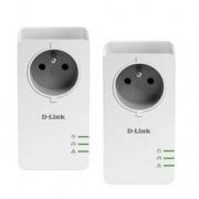D-LINK Pack de 2 CPL 1000Mbit/s DHPP601AV