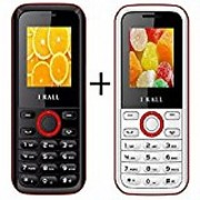 Combo of IKall K18 (Dual Sim 1.8 Inch Display 800 Mah Battery Made In India)