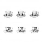 Set 6 cesti espresso Bialetti Carosello
