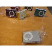 Mini MP3 přehrávač - stříbrný