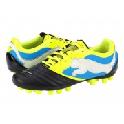 Ghete fotbal Puma PowerCat 3 r MG black-yellow-white-blue
