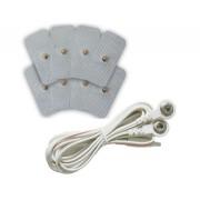 Set cabluri şi paduri de rezervă pentru aparat electrostimulare, Hydas 4513.1.36