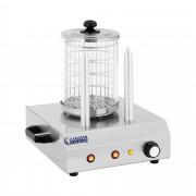 Machine à hot dog - 2 pics chauffants - 422 W
