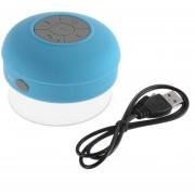 Bocina Bluetooth Contra Agua Portatil Inalambrica Sumergible Y Manos Libres Llamadas Bocinas Bluethoot-AZUL.