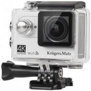 Camera Video de Actiune Kruger&Matz KM0197, Filmare 4K, Waterproof (Argintie)