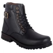 Austrich Black High Length Boot