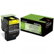 Lexmark 80C2HY0 - 802HY toner amarillo