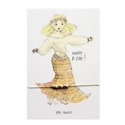 Happy B-day kaart