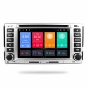 Navigatie Gps Hyundai Santa Fe 2006 - 2012 2GB RAM + 16 GB ROM Android 7.1 Internet 4G Aplicatii Waze Wi Fi Usb Bluetooth