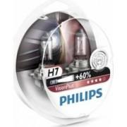 Set 2 becuri auto cu halogen pentru far Philips H7 12V 55W PX26d Vision Plus