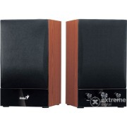 Genius SP-HF 1250B 2.0 zvučnik s drvenom kutijom PMPO