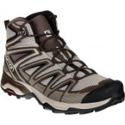 Salomon X Ultra Mid 3 Aero Running Shoes For Men(Brown, Multicolor)