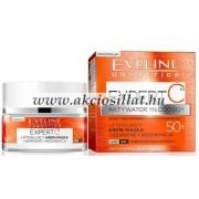 Eveline Expert C Bioaktív 50+ nappali és éjszakai arcmaszk 50ml