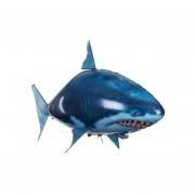 Bola de juguete inflable tiburón de control remoto creativo-Azul
