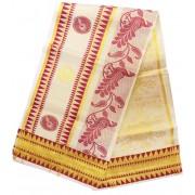 Kerala Temple Design Settu Saree