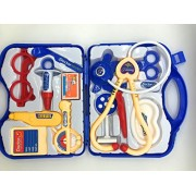 FunBlast™ Doctor Kit Toys for Kids, Doctor Kit Pretend Play Doctor Playset Medical Carrycase Nurses Toy Set Fun Toy Gift Early Education for Kids (Blue)