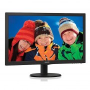 "Philips 203v5lsb26/10 Monitor Lcd 19,5"" Luminosità 200 Cd/m² Colore Nero"