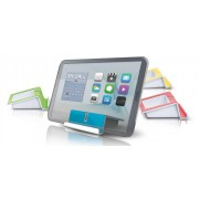 Suport tableta/smartphone HAN Up - alb