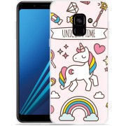 Samsung Galaxy A8 Plus 2018 Hoesje Unicorn Time