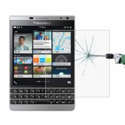 50 PCS for BlackBerry Passport Silver Edition 0.26mm 9H Surface Hardness 2.5D Explosion-proof Tempered Glass Screen Film No Retail Package