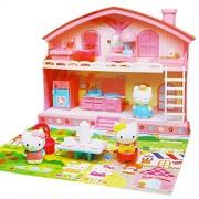 "Sanrio Japan Hello Kitty Play House Set "" Good Friend House """