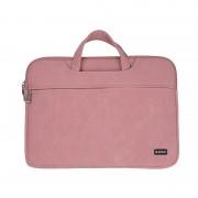 ORICO Laptop Bag Waterproof Shock-resistant Handbag Business Briefcase Tote for 15.6-inch Laptop - Pink