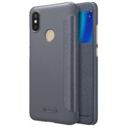 Nillkin Flip Sleep Function PU Leather Full Protective Case For Xiaomi Mi A2 / Xiaomi Mi 6X Mi6X