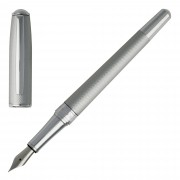 Boss Füller Füllfederhalter Fountain Pen Hugo Boss Essential. HSW7442B Matte Chrome